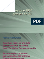 Modernismo Poesia De1930