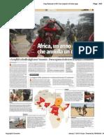 Africa, un anno di guerre che annulla un decennio