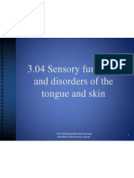 3 04 sensory functions and disorders of the tongue and skin