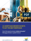 101 Mortgage Broker Secrets to get the Best Mortgage