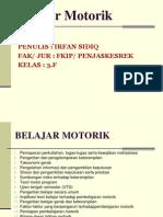 P. Point Belajar Motorik