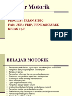 P. Point Belajar Motorik