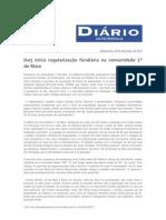 Diário de Petrópolis - Iterj inicia regularização fundiária na comunidade 1º de maio
