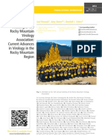The 12th Annual Meeting of the Rocky Mountain Virology Association