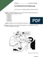 Aufgaben zu Teilbarkeit und Primzahlen (Ergänzung)