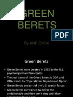 Green Beret Powerpoint