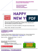 January 2012 e-newsletter