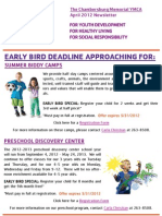 May 2012 e-newsletter