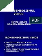 3 Tromboembolismul Venos 25oct