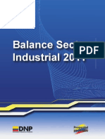 balance sector industrial 2011 colombia
