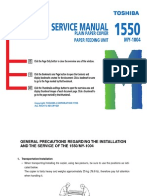 Toshiba 1550 Service Manual | Phase (Waves) | Electrical