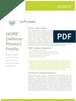 Qivana QORE Defense Profile