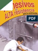 Adhesivos de Alta Resistencia Para La Construccion