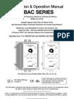 KBAC AC Drive Series Manual