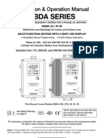 KBDA AC Drive Series Manual