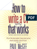 How to Write a CV That Really Works, Fourth Edition Jul 2009