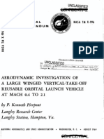 LARGE WINGED VERTICAL-TAKE-OFF REUSABLE ORBITAL LAUNCH VEHICL