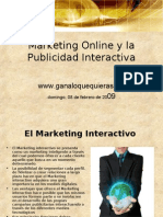 Marketing Online y La Publicidad Interactiva