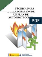 GUIA DE TECNICAS PARA LA ELABORACION DE PLANES DE AUTOPROTECCION