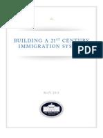 Planos para una eventual reforma migratoria. Casa Blanca.