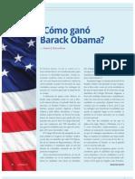 ¿Cómo ganó Barack Obama? (La Nación 3071, Noviembre 2012)
