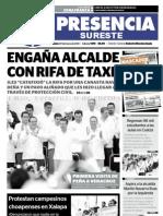 Diario Presencia del Sureste de Las Choapas, Veracruz México