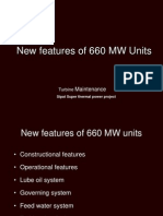 New Features of 660 MW Units