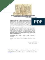 Algunas consideraciones sobre el simbolismo de la esfinge