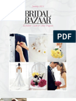 Bridal Bazaar - January 2013 Show Directory