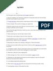 Gann, W.D. - Gann's 28 Trading Rules