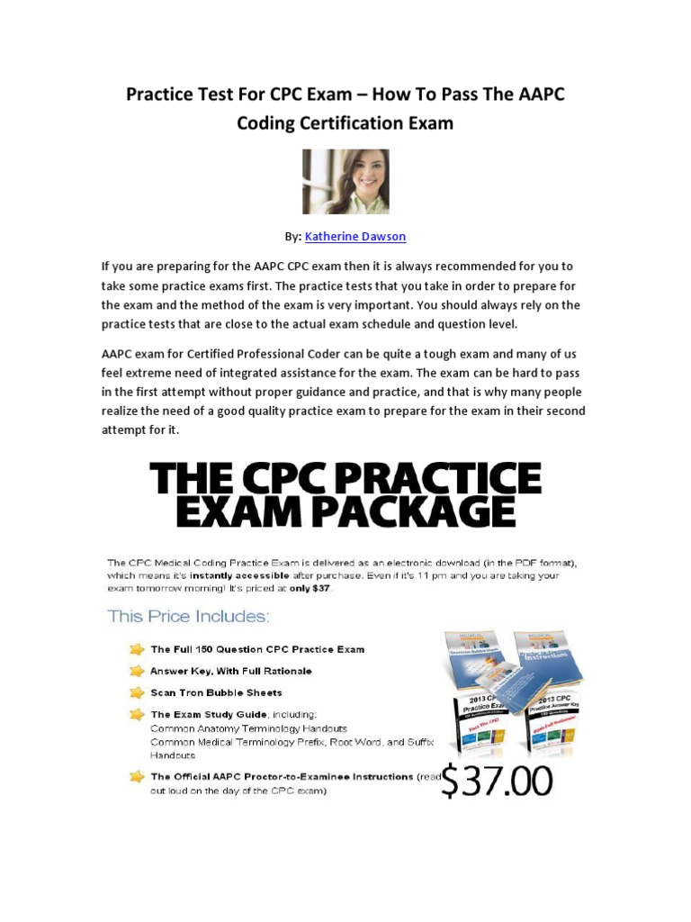 Practice test for cpc exam how to pass the aapc coding practice test for cpc exam how to pass the aapc coding certification exam test assessment public health fandeluxe Images