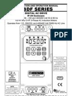 KBDF AC Drive Series Manual
