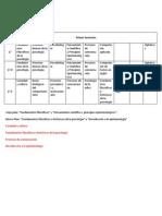 Modificaciones al Mapa Curricular. Psicología UMSNH