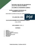 Syl - Calculos Economicos en Ingenieria Quimica - 0 - 2013