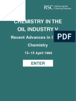 Recent Advances in Oilfield Chemistry, 5t