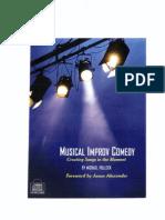 Michael Pollock - Musical Improv Comedy (B&W)