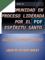 LA COMUNIDAD EN PROCESO LIDERADA POR EL ESPÍRITU