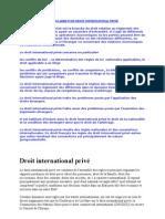 La règle de conflits des lois et GRANDS ARRETS DE DROIT INTERNATIONAL PRIVE