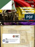 La II republica. El bienio de izquierdas. España en el siglo XX