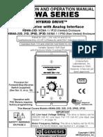KBWA AC Drive Series Manual