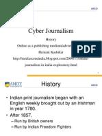 cyber journalism