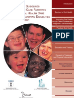 Oral Health Care of People With Learning Disabilities