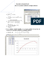 Exercitii Cu Formule Excel