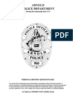 Police Dept Application With Highlights