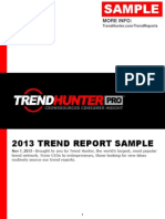 Trend Hunter 2013 Trend Report Reading Sample