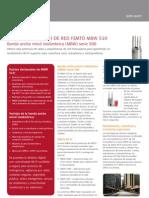 Especificaciones MBW510