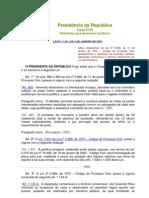 Lei 11.441-2007, redação a arts. do CC