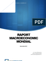 Raport Macroeconomic Mondial Decembrie 2012