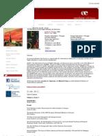 SUNY Press - AUDEM Volume #2, Issue #1 - Annual