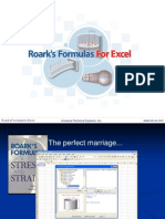 Roarks Formulas for Excel